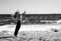 Menschen, Strand, Frau, Fotografie