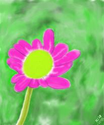 Blumen, Digitale kunst