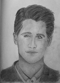Mann, Männlich, Portrait, Zeichnungen
