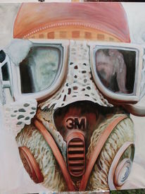 Surreal, Figural, Malerei, Pollution2