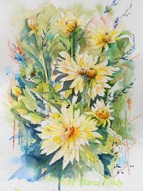 Stillleben, Natur, Dalien, Blumen