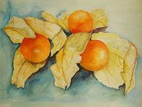Markt, Früchte, Orange, China