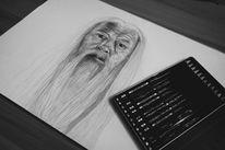 Hogwoarts, Zeichnung, Alt, Harry potter