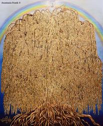 Sacraler, Gold, Tree of life, Baum des lebens