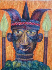 Maske, Malerei, Afrika