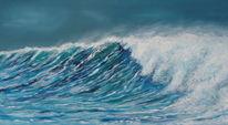 Welle, Meer, Wasser, Malerei