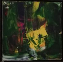 Acrylmalerei, Komposition, Informel, Malerei