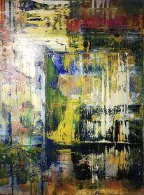 Vertikal, Acrylmalerei, Komposition, Malerei