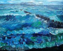 Ostsee, Welle, Meer, Malerei