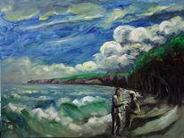 Ostsee, Malerei,