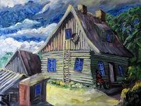Gehen, Rügen, Haus, Malerei