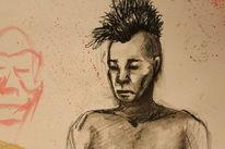 Skizze, Punk, Gekritzel, Zeichnungen