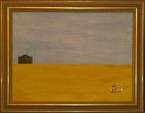Minimalismus, Landschaft, Abstrakt, Malerei
