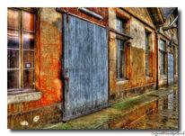 Industriegebiet, Regen, Hdr, Fotografie