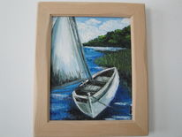 Boot, Sommer, Wasser, Havel