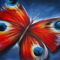 Insekten, Bunt, Schmetterling, Malerei