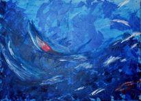 Modern, Welle, Abstrakt, Wasser
