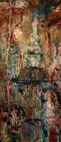 Menschen, Abstrakt, Bunt, Malerei