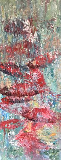 Fische, Wasser, Bunt, Malerei