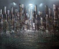 Skyline, Sity, Malerei