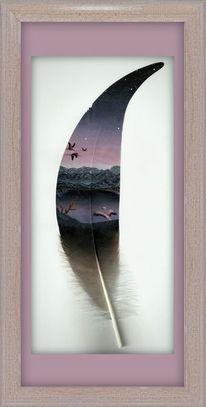 Malen, Natur, Acrylmalerei, Kreide