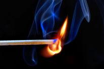 Flammen, Streichhölzer, Fotografie