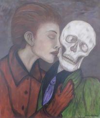 Malerei, Zeit, Acrylmalerei, Menschen