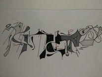 Graffiti, 141ers, Mischtechnik