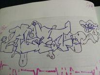 Alst, Graffiti, Mischtechnik