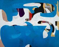 Architektur, Gemälde, Malen, Abstrakte malerei