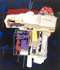 Malerei, Abstrakte malerei, Geometrie, Universum