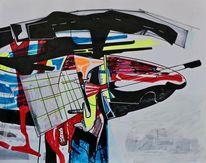 Zeichnung, Universum, Gemälde, Modern