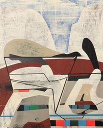 Abstrakt, Acrylmalerei, Avantgarde, Zeitgenössisch