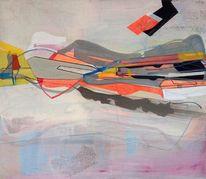 Abstrakt, Geometrie, Abstrakte malerei, Konst