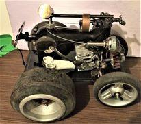 Formel 1, Traktor, Renn, Plastik