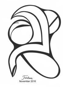 Person, Zeichnung, Stuhl, Gesicht