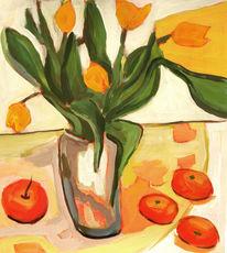 Landschaft, Malerei, Blumen