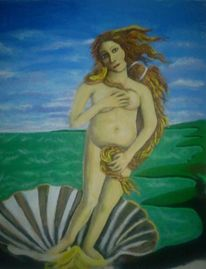 Landschaft, Acrylmalerei, Malerei, Akt