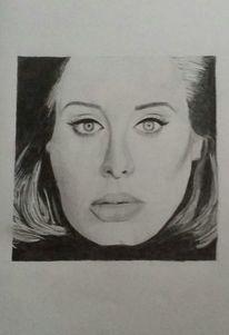 Bleistiftzeichnung, Zeichnung, Adeln, Portrait