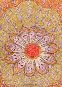 Surreal, Surrealistisch, Sonnenblumen, Seele