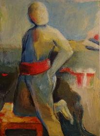 Landschaft, Mann, Spanisch, Malerei