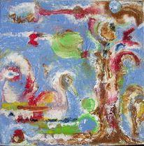 Natur, Fantasie, Blau, Malerei