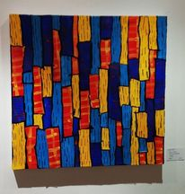 Brasilien, Modern art, Collage, Acrylmalerei
