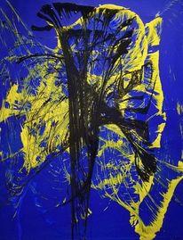 Acrylmalerei, Malerei, Abstrakt, Mischtechnik