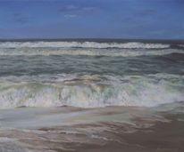 Meer, Strand, Blau, Realismus