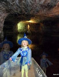 Heilige barbara, Blaue hexe, Schacht, Unterirdischer see