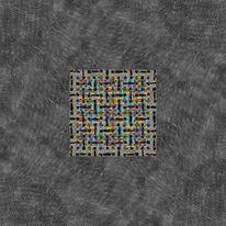 Fantasie, Quadrat, Moiré, Effekt