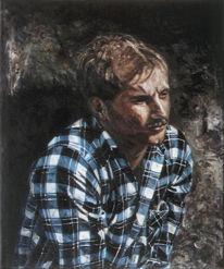 Malerei, Portrait, Hemd