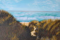 Malerei, Natur, Ostsee, Meer