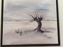 Winter, Malerei, Landschaft